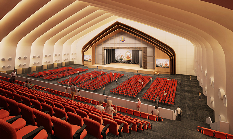 GOLDEN JUBILEE CONVENTION HALL RENOVATION, KHON KAEN UNIVERSITY